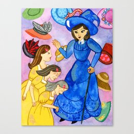 Sophie Hatter Becomes an Old Woman Canvas Print