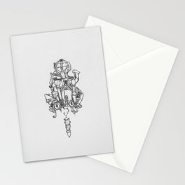 House of cats  Stationery Cards