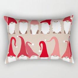 Gnome friends Rectangular Pillow
