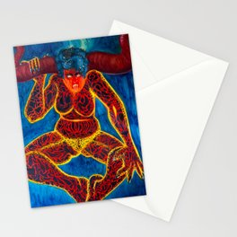 Heat of Self Vacillation Stationery Cards