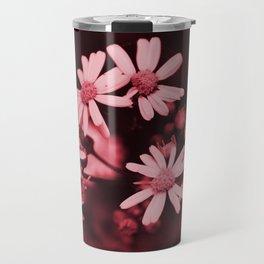 Pale Pink Wildflowers Travel Mug