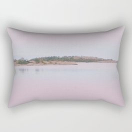 Archipelago Sunset  Rectangular Pillow