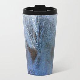 One Night white forest Travel Mug