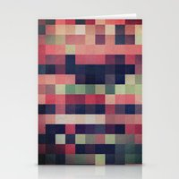 quilt Stationery Cards featuring quilt n2 by spinL