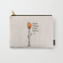 Small things make a big difference Carry-All Pouch