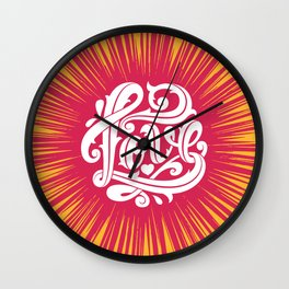 Love Thorns Wall Clock