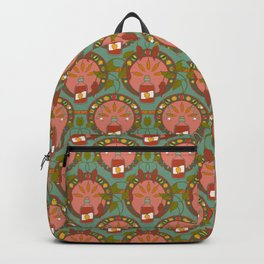 Hot Sauce Art Nouveau Backpack