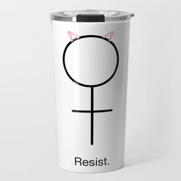 Resist. Travel Mug
