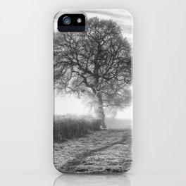 Misty Morning Oak iPhone Case