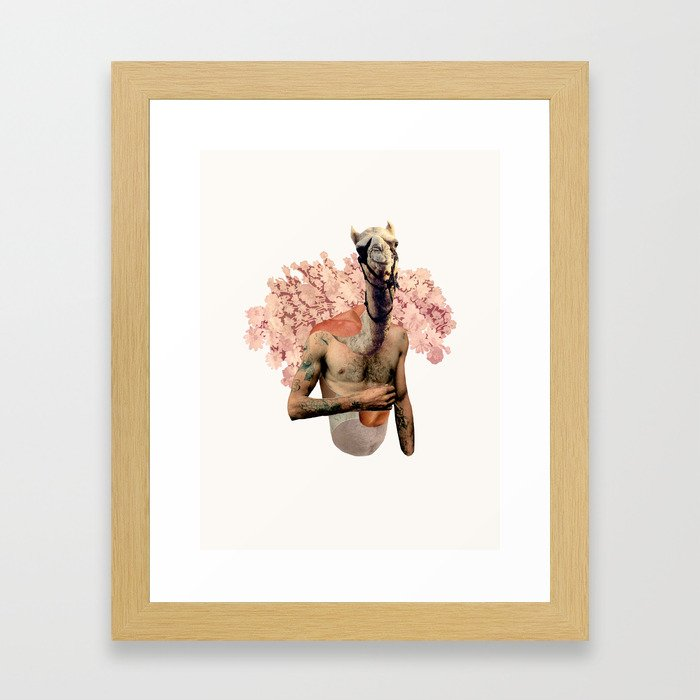 Camel Butch Framed Art Print