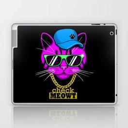 Check Meowt Bling Laptop & iPad Skin