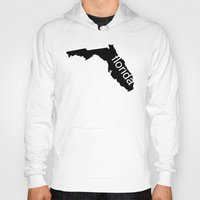florida Hoodies featuring Florida by Isabel Moreno-Garcia
