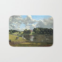 John Constable Wivenhoe Park, Essex Bath Mat