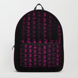Hot Neon Pink Machix Datastream Code Backpack