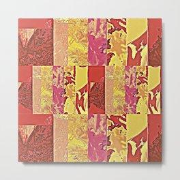 Rose Collage 157 Metal Print