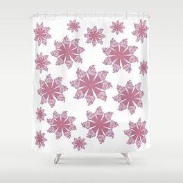 Ice Cream Cone Swirls Shower Curtain