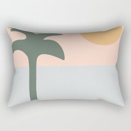 abstract paradise 3 Rectangular Pillow