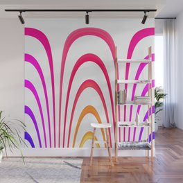 Cheerful lines Wall Mural