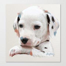 Dalmation Pup Canvas Print