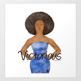 Victorious Art Print