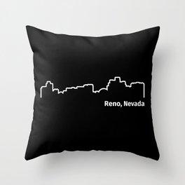 Reno, Nevada Throw Pillow