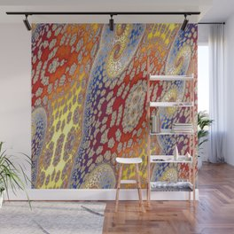 Fractal Vortices Wall Mural