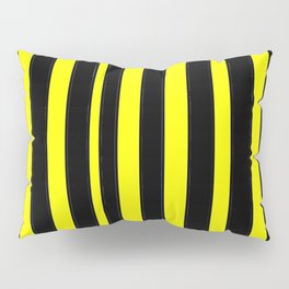 Strips 6-line,band,striped,zebra,tira,linea,rayas,rasguno,rayado. Pillow Sham