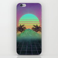 80s iPhone & iPod Skins featuring 80s love by Mikuloctopus