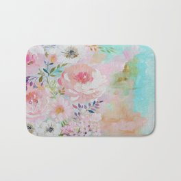 Acrylic rose garden  Bath Mat