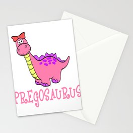 Dinosaur Lover? Perfect Tee Pregosaurus Definition Funny Pregnancy Maternity T-shirt Design T-rex Stationery Cards