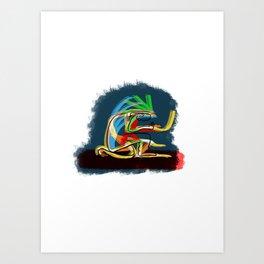 H danza Art Print