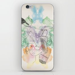 Au Printemps iPhone Skin