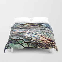 Fabulous Lizard Duvet Cover