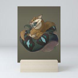 The Snakt Mini Art Print