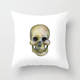 Skull's Out Throw Pillow