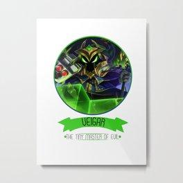 League Of Legends - Veigar Metal Print