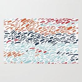 Seaside Sunset - Abstract Rug