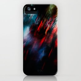Abstract goldfish_02 iPhone Case