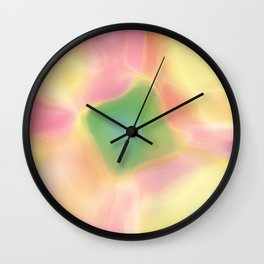 Gradient V Wall Clock