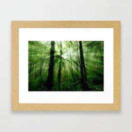 Joyful Forest Framed Art Print