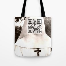 Audrey Hepburn (The Nun's Story) Tote Bag
