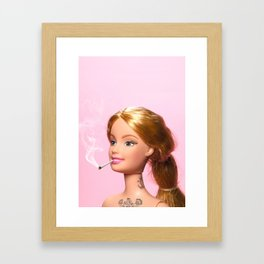 Doll Grown Up Gerahmter Kunstdruck