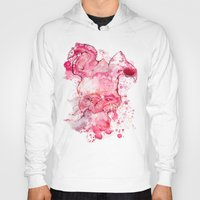 psychology Hoodies featuring Mr Bunny by hoploid
