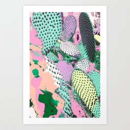 Cactyed Art Print
