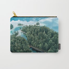 Mountain in a Lake - Landscape Photography Carry-All Pouch