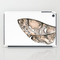 moth iPad Cases featuring Moth by Raffles Bizarre