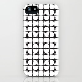 Corpuscle pattern iPhone Case