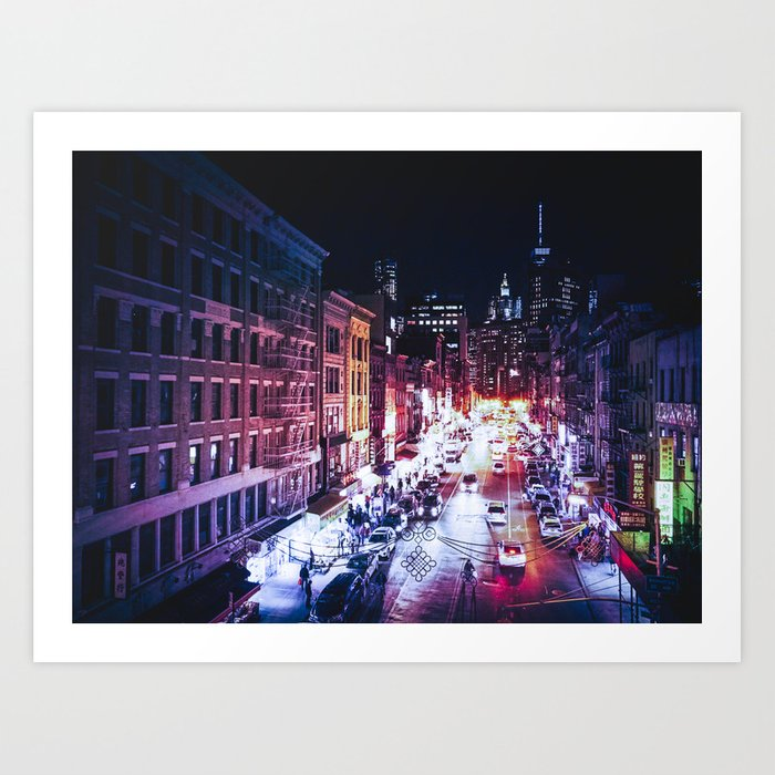 NYC Night Art Print