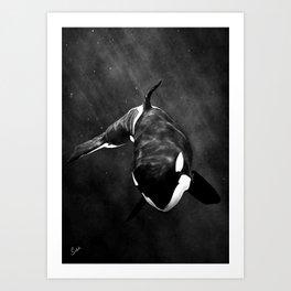 The Orca Art Print