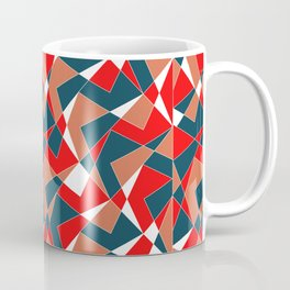 Broken Pattern (Red) Coffee Mug